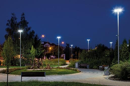 Park przy ul. Błogosławionej Karoliny