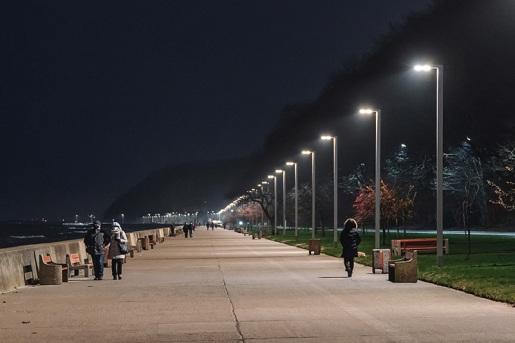 Skwer Kościuszki i bulwar Nadmorski w Gdyni